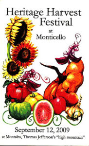 Cover photo for Heritage Harvest Festival at Monticello