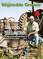 Vegetable Grower magazine cover