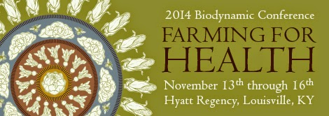 2014 Biodynamic Conference banner