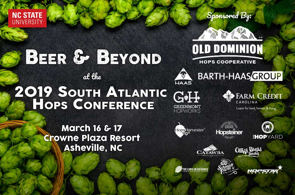 Beer and Beyond Conference Logo with sponsors
