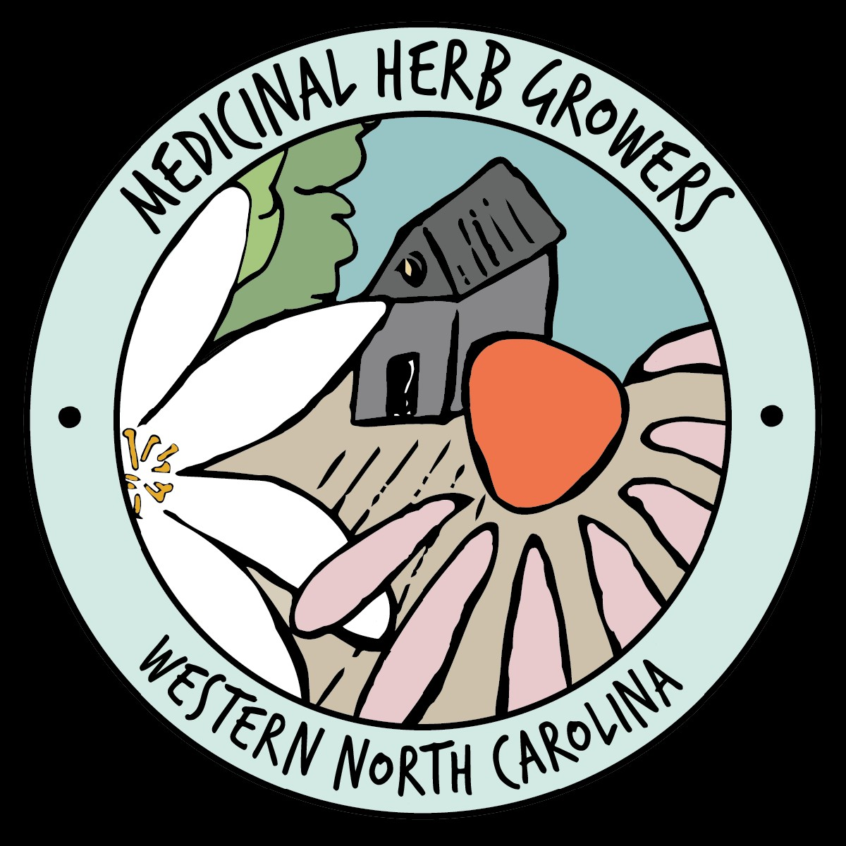WNC Medicinal Herb Growers logo