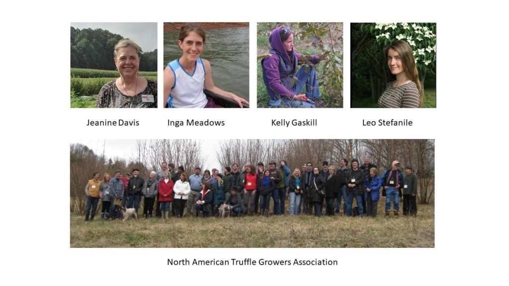 people who worked on the NC State truffle project
